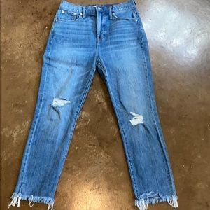 Madewell vintage style jeans